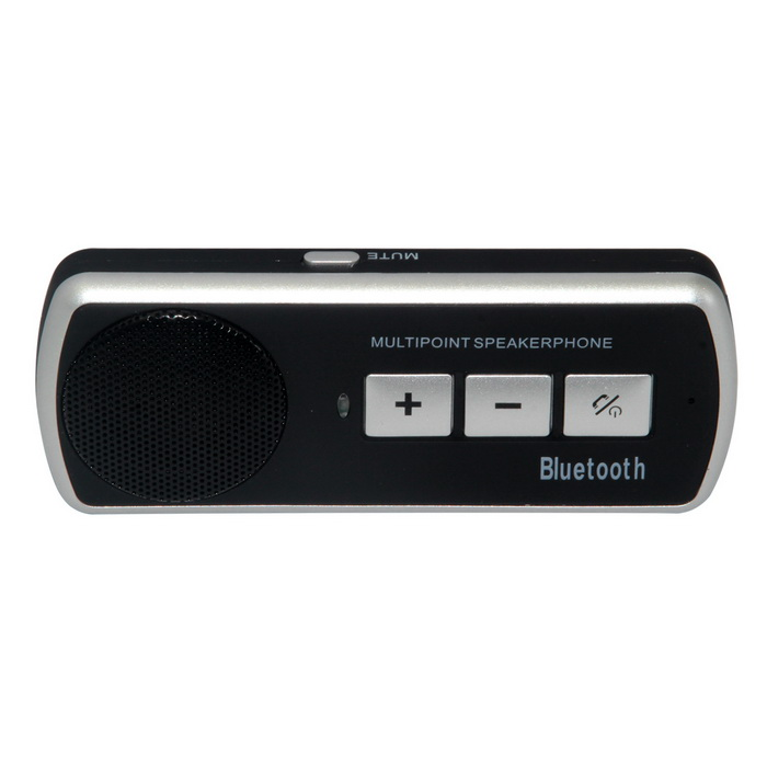 BT610 Dual-Standby Bluetooth v2.1 + EDR Multi-Point Speakerphone - Black + Silver