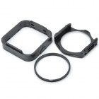 SHSYKJ07 10-in-1 Gradual Lens Filters + ND Lens + 82mm Ring Set for 82mm Lens Camera - Black