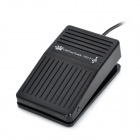 FS1-1 USB Foot Switch Keyboard Mouse Control Foot Pedal - Black (190cm-Cable)