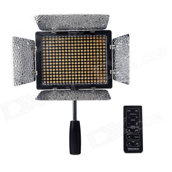Buy YONGUNO YN300-II 18W Speedlite / Photoflood Lamp / Luminaire - Black with Litecoins with Free Shipping on Gipsybee.com