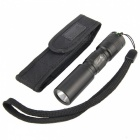 UltraFire C3 1xAA 1x14500 Flashlight w/ Holster - Black
