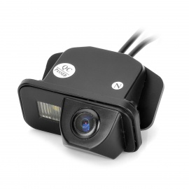 170-Wide-Viewing-Angles-CMOS-Rearview-Camera-w-3-LED-for-Toyota-097e10-Corolla-Black-(DC-12V)