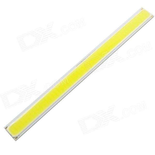DIY 8W 6500K 650lm Cool White Light COB LED Module (12~14V / 170*15mm)Leds<br>MaterialPlastic + aluminumColorYellowQuantity1Total Emitters1Power8 WColor BINCool WhiteRate Voltage12~14 VLuminous Flux650 lmColor Temperature6000~6500 KApplicationAll kinds of LED lighting productsFeaturesCurrent: 600mAPacking List1 x LED module<br>