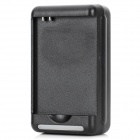 Universal Battery Charger w/ USB Port for Samsung Galaxy Grand / I9080 / I9082 - Black (US Plug)