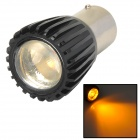 1156 3W 200lm 560 ~ 590nm keltainen valo LED-auto ohjausvalo (DC 12V)