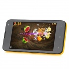 "LOGO Z105 Android 4.1 Dual Core GSM Phone w/ 4.4"" Capacitive Screen, Wi-Fi, Quad-Band - Yellow"