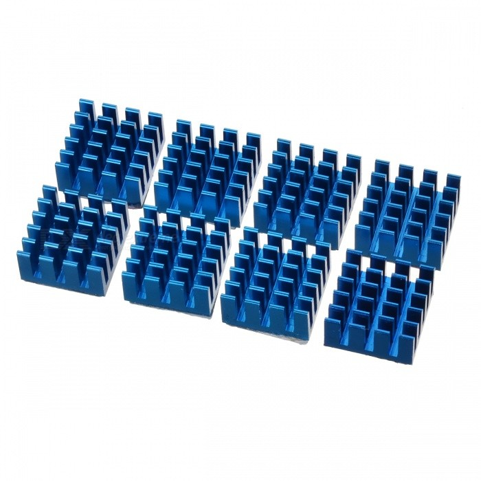 Buy AVE X3 RAM Heatsink - Blue (8PCS) with Litecoins with Free Shipping on Gipsybee.com