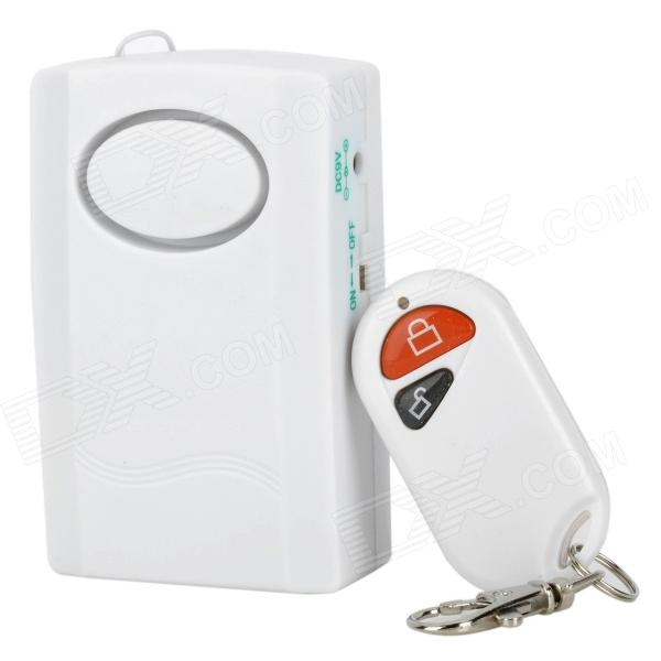 Home Security Door / Window Digital Wireless Remote Control Alarm System - WhiteAlarm Systems<br>ModelNForm  ColorWhiteQuantity1PowerVoice Decibels115dBBatteryPower AdaptornoPower Supply9VPower SupplyOthersPower AdapterOthersCertificationCEOtherThisPacking List<br>