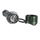 SingFire SF-703 800lm 5-Mode White Zooming Flashlight w/ Cree XM-L T6 - Green (1 x 18650)