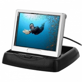 35-LCD-Rear-ViewTVDVDMP4-Dual-Input-Video-Monitor-with-Dashboard-Stand-(PALNTSC)