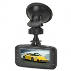 "GS8000L 2.7"" coche DVR TFT Full HD 1080P gran angular de 1,3 MP CMOS"