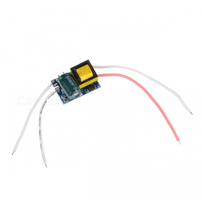 Internal 4~5W LED Source Power Supply Driver - Blue + Black + White + Pink (AC 85~277V)