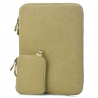 Protective-154-Canvas-Laptop-Sleeves-for-PRO15-Deep-Beige
