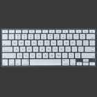 """ENKAY Protective Silicone Keyboard Cover Skin Guard for MacBook Pro Retina 13.3"""" / 15.4"""" - White"""