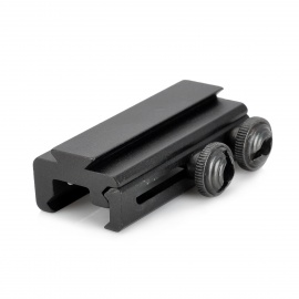 Aluminum Alloy 20mm to 11mm Weaver Adapter for Airsoft - Black