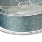 SK2.5 Anti-bite Fiber Braided Thread Fishing Line - Grey (100m)