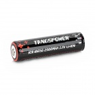 TANGSPOWER Rechargeable 3.7V 2900mAh 18650 Lithium Ion Battery w/ Protection PCB - Black + Silver