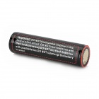 TANGSPOWER rechargeable 3.7V 2900mAh 18650 Lithium Ion Battery w / PCB protection - Silver Black +