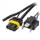 Cables de Control de luz coche de DIY para H4 retráctil ESCONDIERON lámpara de pie - negro