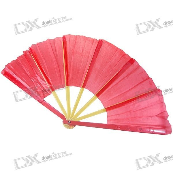 Magical Broken-and-Instantly-Fixed Traditional Fan