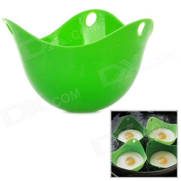 Buy Silicone Egg Poach Pod Poacher - Green with Litecoins with Free Shipping on Gipsybee.com