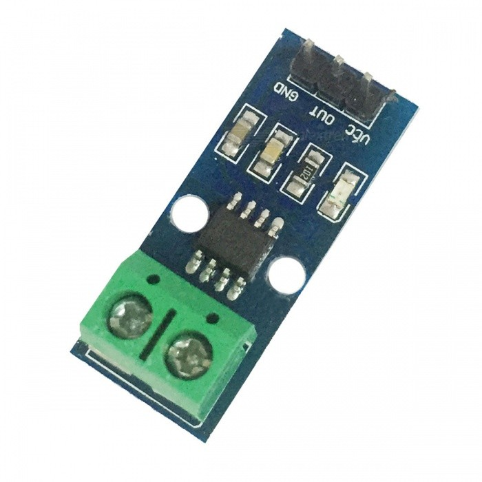 ACS712 20A Current Sensor Module - BlueSensors<br>Form  ColorBlueMaterial:English Manual / SpecYesPacking List<br>