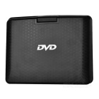 "NS-758 Portable 7"" Rotational Rechargeable Multi-Media DVD Player w/ SD - Black + Silver"