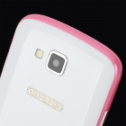 "S7 (R830) Android 4.1 GSM Bar Phone w/ 4.0"" Capacitive Screen, Quad-Band and Wi-Fi - White + Pink"