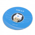 Mini Bluetooth V4.0 + EDR Dongle USB con BlueSoleil IVT9.0 / 10.0 - Blanco