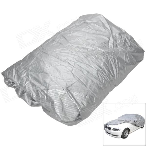 Buy Protective Water Resistant Dust-Proof Anti-Scratching SUV Car Nylon Cover - Silver (Size M) with Litecoins with Free Shipping on Gipsybee.com
