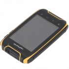 "Uphone H1 Android 2.3.6 Ultra-Rugged GSM Phone w/ 3.5"" Capacitive, Dual-Band and Wi-Fi - Yellow"