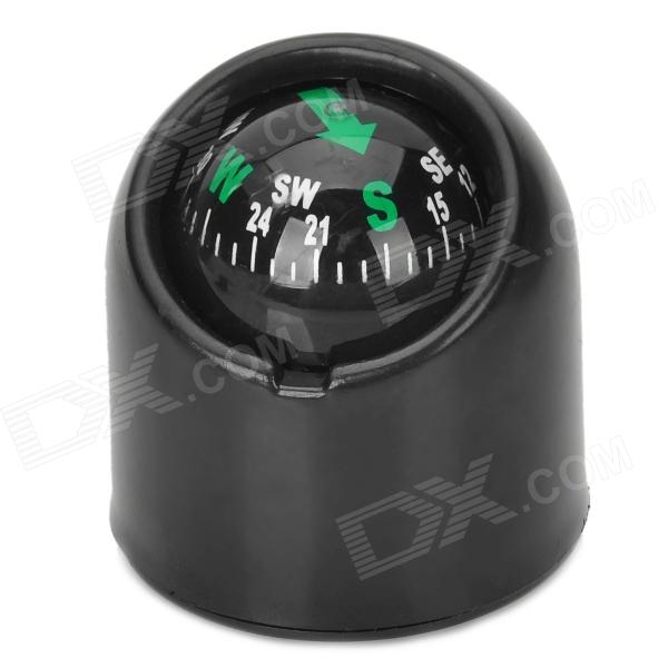 Pipe Style Car Compass - Black