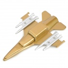 8-1 Estilo de avión USB 2.0 Flash Drive-Blanco + Oro (8 GB)