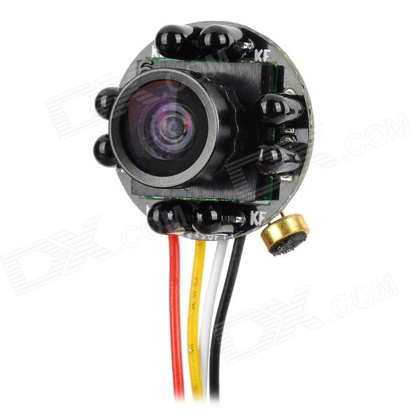 205IR 170' Wide Angle CMOS Mini CCTV Camera - Black + White