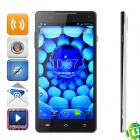 "S8 Quad-core Android 4.2 WCDMA Bar Phone w/ 6.0"" Screen, Wi-Fi, GPS, RAM 1GB and ROM 16GB - White"