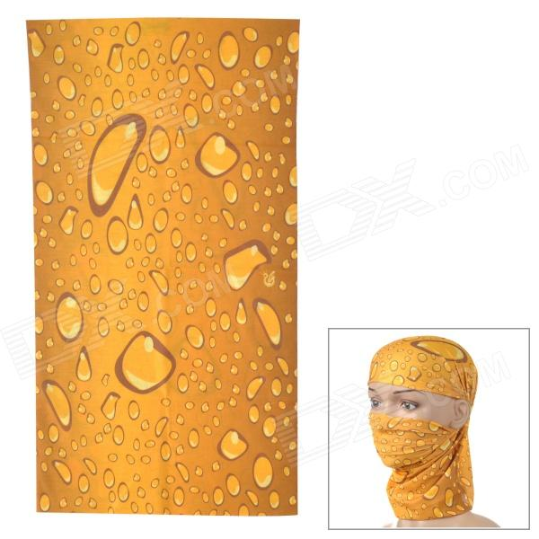 Buy HL0099 Multifunction Outdoor Sports Seamless Head Scarf - Brown + Yellow with Litecoins with Free Shipping on Gipsybee.com