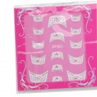 XF801 805 décoratif 3D DIY Nail Sticker Art (2 PCS)