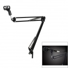 Rotational-Professional-Recording-Microphone-Stand-Holder-Black