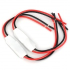 288W Single LED Strip Dimmer Controller - White + Black + Red (12~24V / 2 PCS)