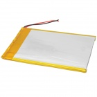 3570100 3.7V 3000mAh Lithium Polymer Battery for Tablets/MP3 - Silver
