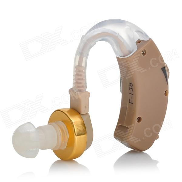 Buy AXON F-136 Wireless Hearing Aid BTE Voice Amplifier - Brown (1*AG5) with Litecoins with Free Shipping on Gipsybee.com