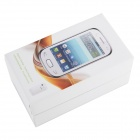 "X5292 Android 4.1.1 GSM Bar Phone w/ 3.5"" Capacitive Screen, Dual-Band and Wi-Fi - White + Pink"