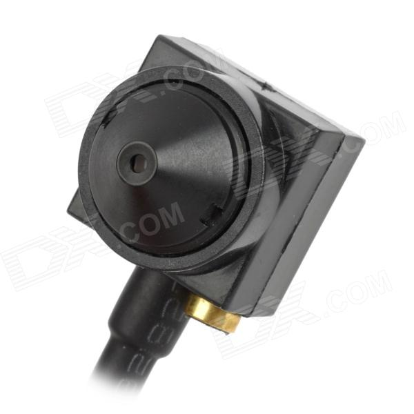 Mini 1/4 CMOS Cone Pinhole Lens 600TVL Wide Angle ATM Camera - Black (PAL)CCTV Cameras<br>ModelNForm  ColorWhiteMaterialPCBQuantity1Image SensorCMOSImage Sensor SizeOthersPicture Resolution1280LensOthersViewing Angle90VideoNo,OthersDaytimedistance10mImaging ColorColorNight VisionYesIR-LED QuantityNoBuilt-in Memory / RAMNo,OthersMemory CardNOMax. Memory SupportedNoWireless / WiFiNoVideo SystemPAL,OthersMotorNoWireless ReceiverYesWater-proofYesBracket YesPower AdaptorYesPower AdapterOthersBuilt-in MicrophoneYesFunctionIRPacking List1 x Mini ATM camera1 x English / Chinese user manual<br>