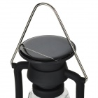 RY-T92 Solar Powered Hand Cranked 16-LED White Light Outdoor Camping Lamp Lantern - Black