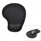 Ergonomically Silicone Mouse Pad w/ Wrist Rest Support - Black