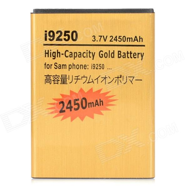 Buy Replacement 3.7V 2450mAh Li-ion Battery for Samsung Galaxy Nexus i9250 - Golden with Litecoins with Free Shipping on Gipsybee.com