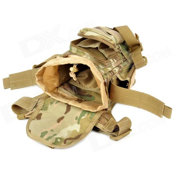 c0456c987481 ... FREE SOLDIER YTB216 Multifunction Outdoor Sports Hiking Nylon Waist Bag  - Camouflage Color (6L) ...