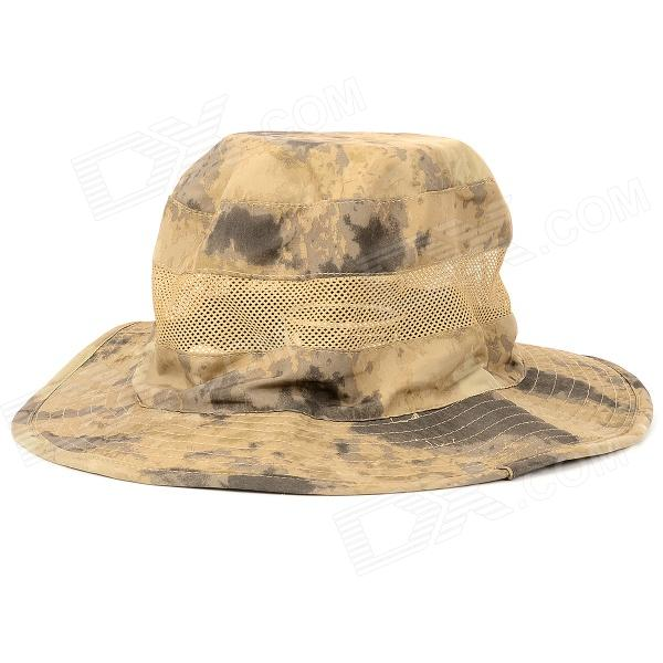 Buy Outdoor Polyester Quick-dry Sun Hat Cap - AT Camouflage with Litecoins with Free Shipping on Gipsybee.com