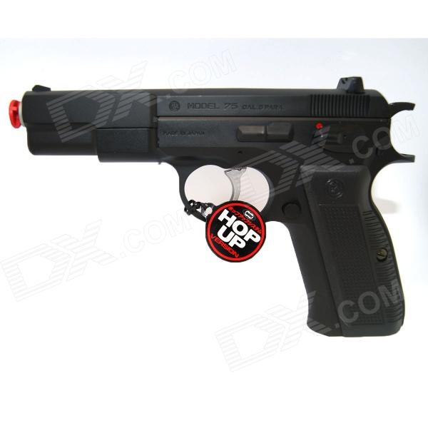 Buy Tokyo Marui Cz75 Pistol Hop Up High Grade SPRING Airsoft Gun with Litecoins with Free Shipping on Gipsybee.com