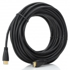 Gold-Plated-HDMI-14-Male-to-Male-High-Definition-Video-Audio-Cable-Black-(145m)